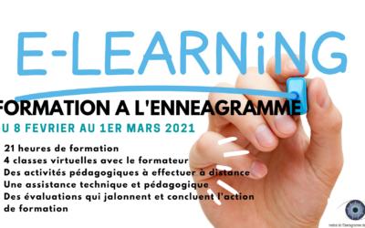 Formation à l'ennéagramme en e-learning du 8 février au 1er mars 2021