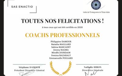 Toutes nos félicitations aux Coachs professionnels certifiés en 2020 !