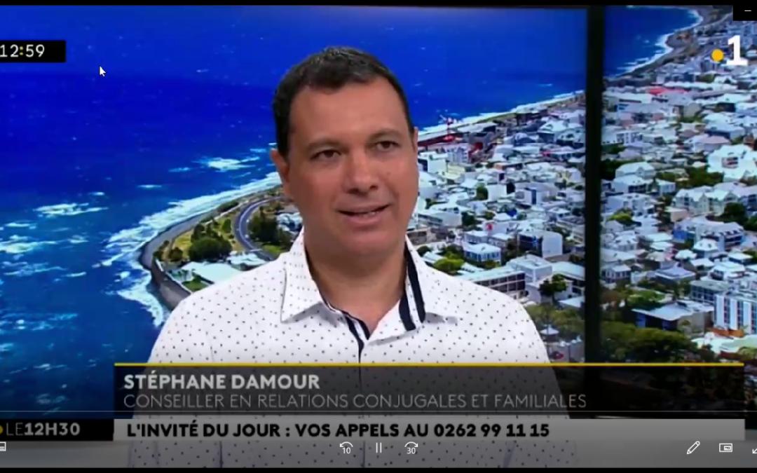 Stéphane Damour, invité du JT de Réunion la 1ère pour la Saint-Valentin